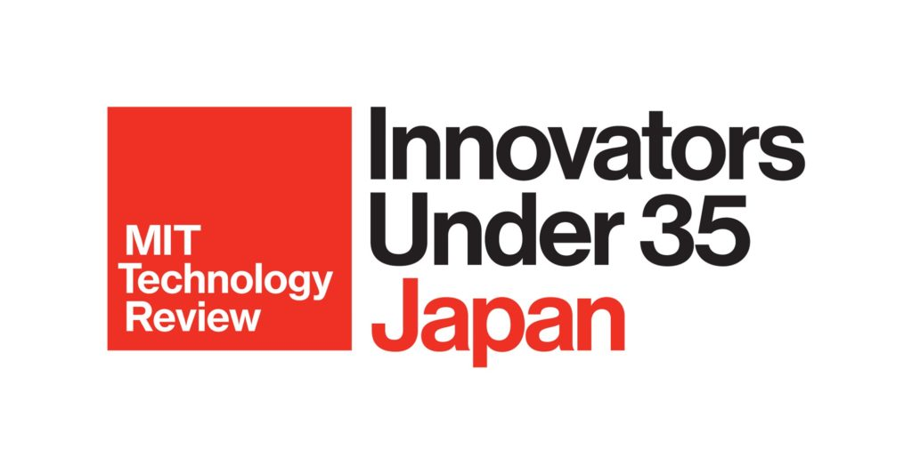 "Sho Nakanose is awarded as ""Innovators Under 35 Japan 2020"" hosted by MIT Technology Review (Japan Edition)"