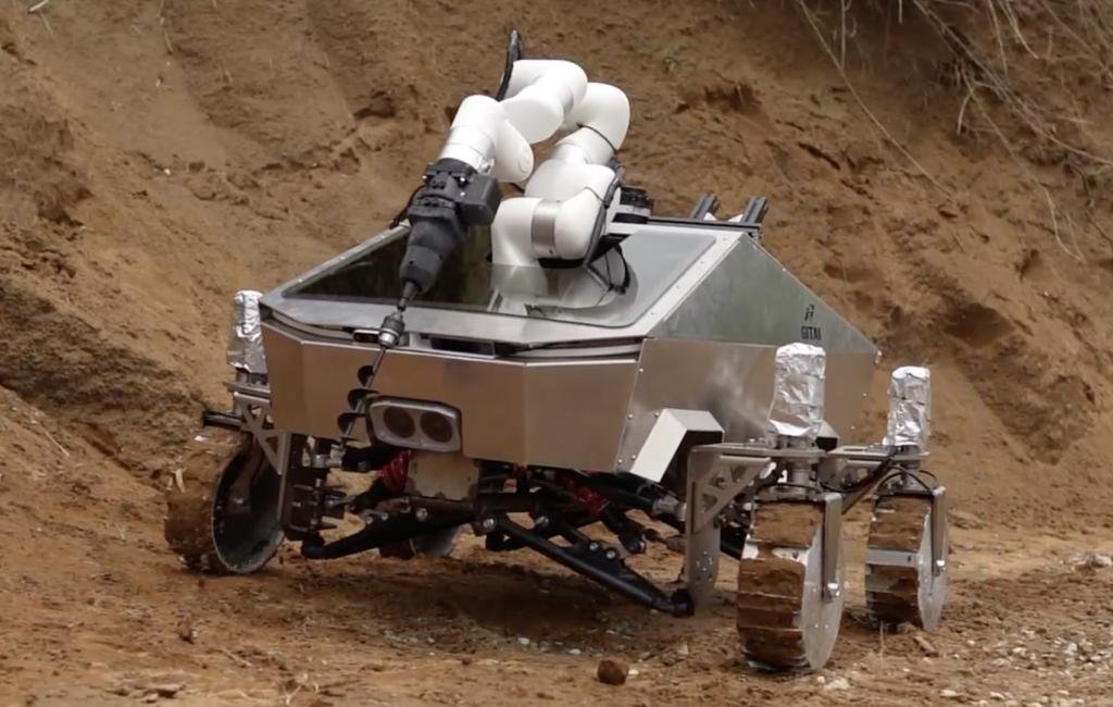 GITAI、月面作業用ロボットローバーの開発に着手、プロトタイプ1号機を公開